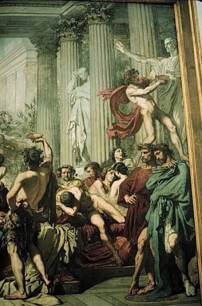 The Romans of the Decadence detail1